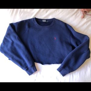 Polo by Ralph Lauren Cropped Sweater
